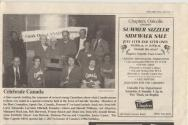 Clipping from the Abbey Oak News from July 10, 1998
