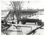 Demolition of Radial Bridge