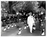 Canadian Legion Parade Admiral Pullen Reviewing Scots