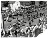 Dominion Day Parade, Band passing in front of Dunn's Drug Store