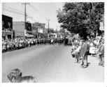 Dominion Day Parade Looking East on Colborne Street from Dunn Street