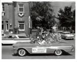 Children's Parade Miss Oakville in car