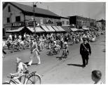 Children's Parade, Children on bicycles